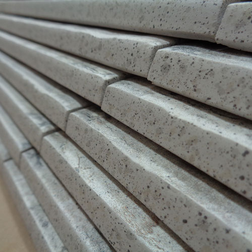 Image of stacked dimensional bullnose