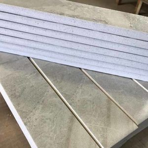 Image of 2x10 fabricated bullnose pieces