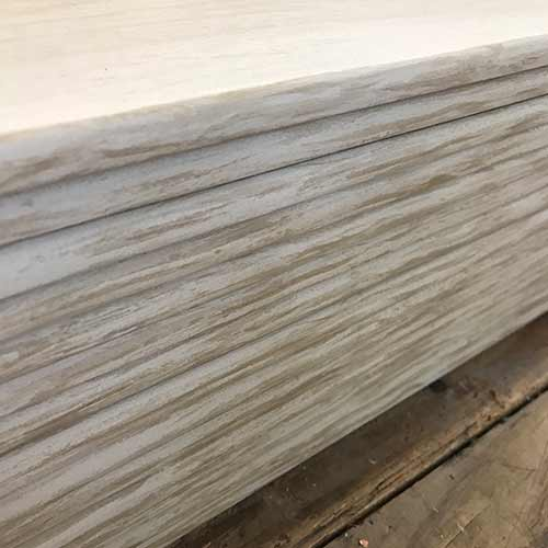 Image of wood look bullnose pieces