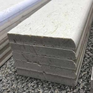 Image of bullnose for shell stone tiles