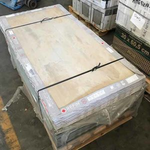 Image of a pallet of large format tile
